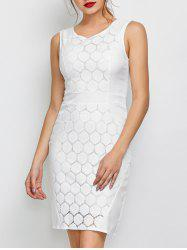Lace Tank Bodycon Party Dress