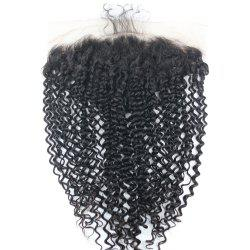 Shaggy Kinky Curly Indian Lace Front Human Hair Extension