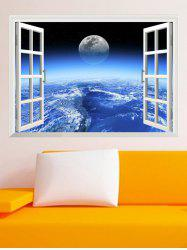 3D Vinyl Wall Stickers Planet Living Room