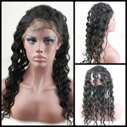 Long Fluffy Loose Wave Lace Front Human Hair Wig
