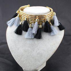 Vintage Tassels Accessories Necklace