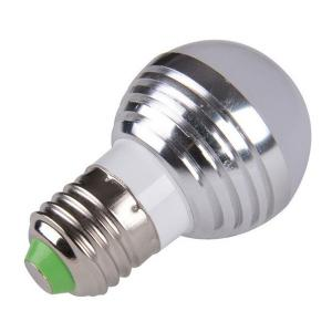 Energy Saving Colorful E27 Romote Control LED Bulb Light - SILVER