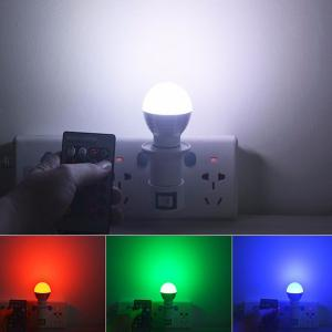 Energy Saving Colorful E27 Romote Control LED Bulb Light