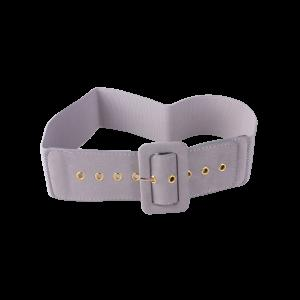 Pin Buckle Wide Elastic Belt