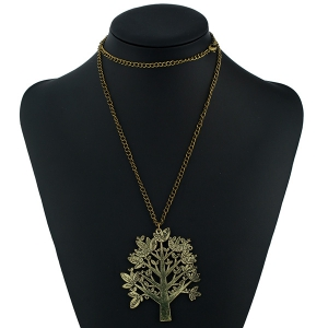 Christmas Letter Life Tree Sweater Chain -