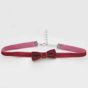 Bows Velvet Choker Necklace