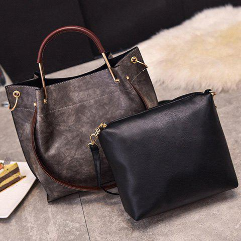 Store PU Leather Handbag Crossbody Bag Set