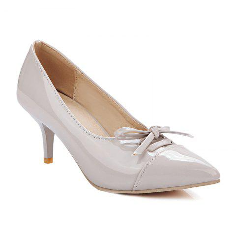 Affordable Pointed Toe Bowknot Pumps