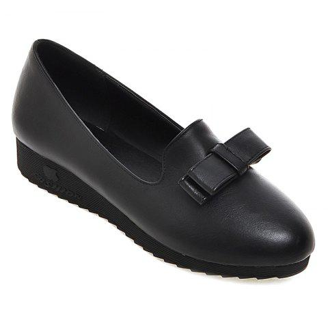 Sale Bowknot Round Toe Flat Shoes