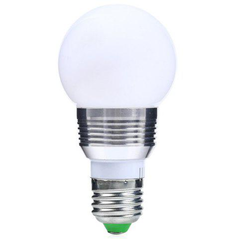 Outfit Color Change Lampada Romote Control RGB LED E27 Bulb - SILVER WHITE  Mobile