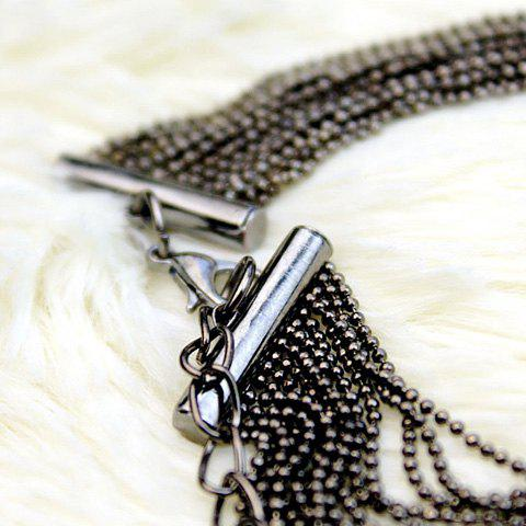 Sale Vintage Sweater Chain - BLACK  Mobile