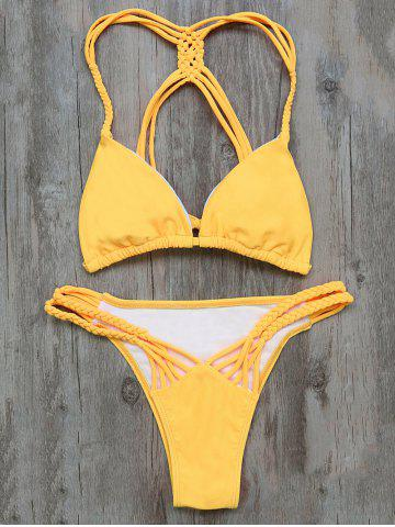 Discount Braided Stringy Bikini Set