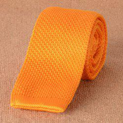 Casual Woven Neck Tie - ORANGE