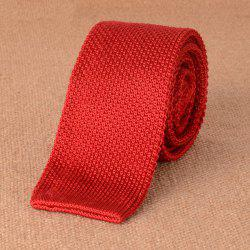 Casual Woven Neck Tie