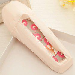 Skidproof Invisible Plain Loafer Liner Socks - LIGHT PINK