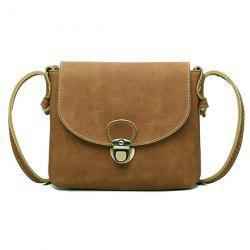 Push Lock Shoulder Bag
