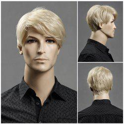 Short Side Bang Layered Shaggy Straight Synthetic Wig