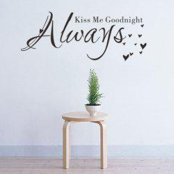 English Quote Removable Room Decor Wall Stickers