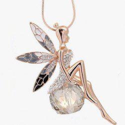 Rhinestone Fairy Sweater Chain