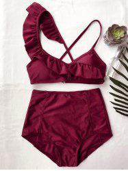 Frilled High Rise Bikini