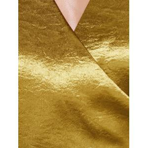 Choker Surplice Gilding Dress -