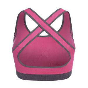 Low Impact Seamless Padded Sports Bra -