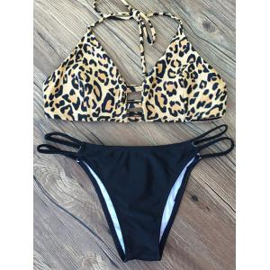 Animal Print String Bikini