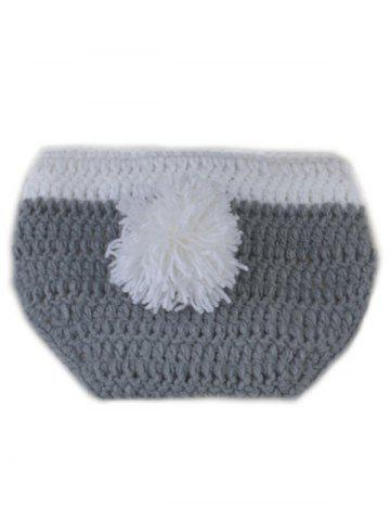 Buy Rabbit Design Photography Clothes Knitted Baby Boy Blankets - GRAY  Mobile