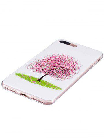 Unique Soft TPU Tree Pattern Noctilucence Phone Cover For iPhone - FOR IPHONE 6 PLUS / 6S PLUS PINK Mobile