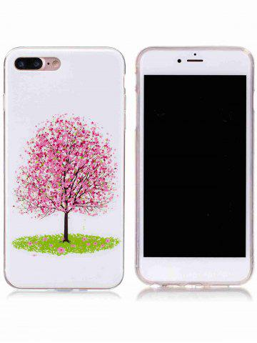 Store Soft TPU Tree Pattern Noctilucence Phone Cover For iPhone - FOR IPHONE 6 PLUS / 6S PLUS PINK Mobile