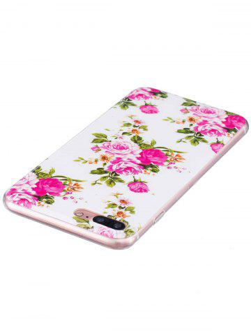 Fancy Flower Pattern Soft TPU Noctilucence Phone Cover For iPhone - FOR IPHONE 6 / 6S COLORMIX Mobile