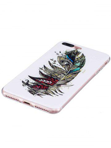 Store Soft TPU Feather Pattern Noctilucence Phone Cover For iPhone - FOR IPHONE 6 PLUS / 6S PLUS COLORMIX Mobile