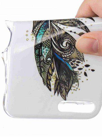 Outfit Soft TPU Feather Pattern Noctilucence Phone Cover For iPhone - FOR IPHONE 6 PLUS / 6S PLUS COLORMIX Mobile