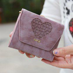 Heart Hollow Out Small Wallet