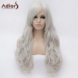 Adiors Long Centre Parting Shaggy Wavy Synthetic Wig