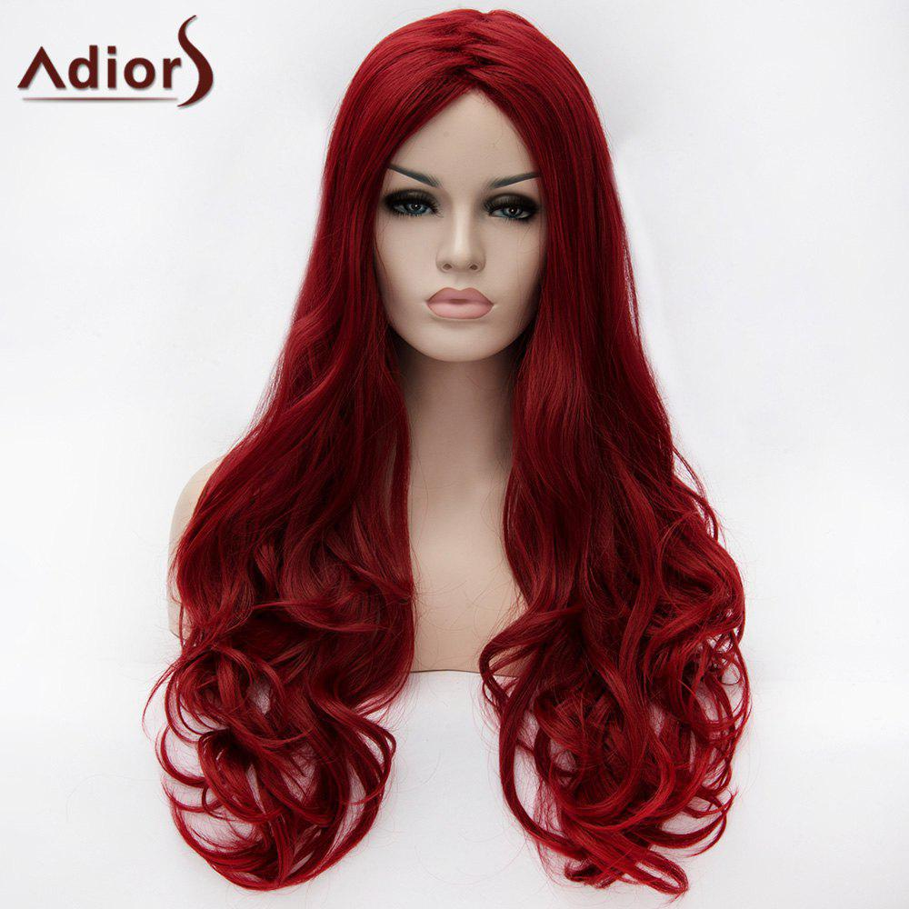 Sale Adiors Ultra Long Zigzag Part Fluffy Wavy Synthetic Wig