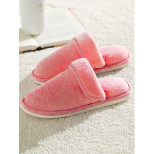 Faux Fur Padded Indoor Slippers -
