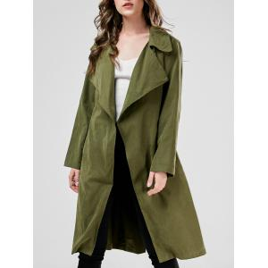 Long Duster Long Wrap Coat