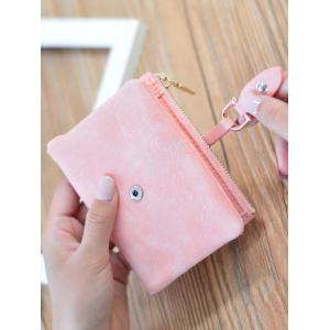 Faux Leather Bi Fold Small Wallet -