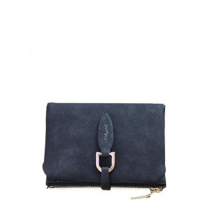 Faux Leather Bi Fold Small Wallet