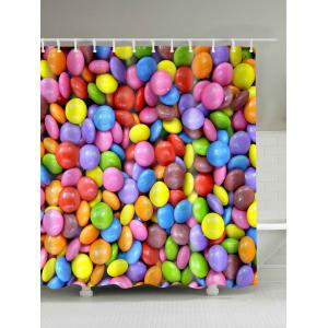 Candy Printed Shower Curtain