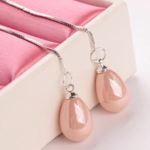 Fake Pearl Water Drop Earrings