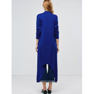 Manteau Longline Collarless Maxi Duster -