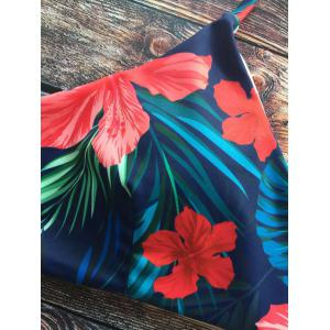 Tropical Print Bikini Bathing Suit -