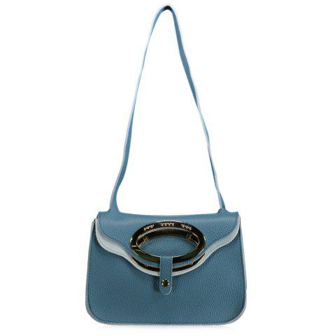 Shop Metallic Flap Shoulder Bag