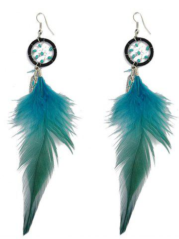 New Feather Bohemian Drop Earrings