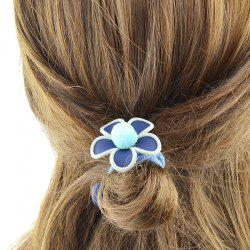 Elastic Hairband with Flower