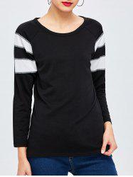 Long Sleeve Panel Basic Tee