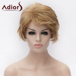 Adiors Short Layered Side Bang Straight Colormix Synthetic Wig