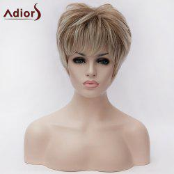 Adiors Short Fluffy Layered Colormix Straight Synthetic Wig